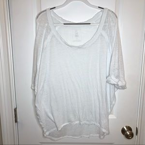 Free People we the free white t shirt